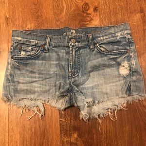 Citizens of humanity light jean shorts